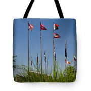 Flags Flags Flags Tote Bag