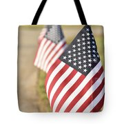 Flags Line Up Tote Bag