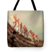 Flags Of London Tote Bag