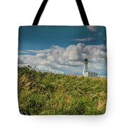 Flamborough Lighthouse, North Yorkshire. Tote Bag