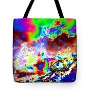 Flamboyant Cloudscape Tote Bag