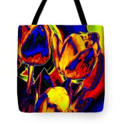 Flamboyant Tulips Tote Bag