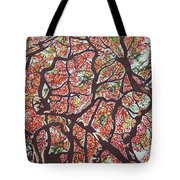 Flamboyants In The Sky Tote Bag