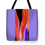 Flame - Bird Of Paradise   Tote Bag