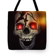 Flame Eyes Tote Bag