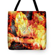 Flame Gems Tote Bag