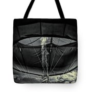Flame On Hot Air Balloon Tote Bag