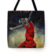 Flamenco 18 Tote Bag