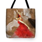 Flamenco Dance Women 02 Tote Bag