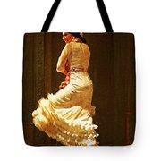 Flamenco Dancer #20 - The White Dress Tote Bag