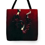 Flamenco Fire Tote Bag