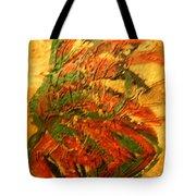 Flamenco Flame - Tile Tote Bag