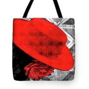Flamenco Girl Tote Bag