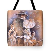 Flamenco Group Tote Bag