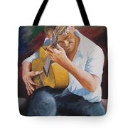 Flamenco Guitar Tote Bag