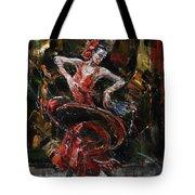 Flamenco II Tote Bag