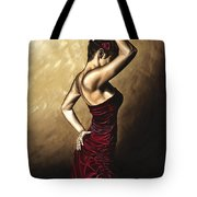 Flamenco Woman Tote Bag