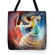 Flamencoscape 06 Tote Bag