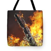 Flames Of Age Tote Bag