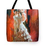 Flamigo Dancing Tote Bag