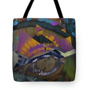 Flamin Heart Stream  Tote Bag