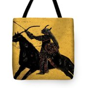 Flaming Arrow Tote Bag