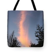 Flaming Clouds Tote Bag
