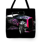 Flaming Hot Roadster  Tote Bag