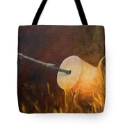 Flaming Tote Bag