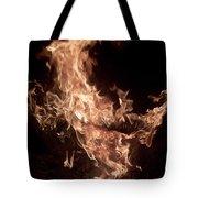 Flaming Pegasus Tote Bag