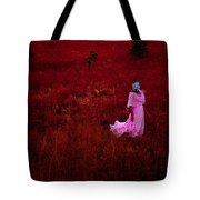 Flaming Pink Tote Bag