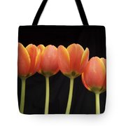 Flaming Tulips Tote Bag