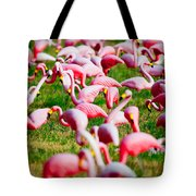 Flamingo 6 Tote Bag