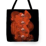 Flamingo Balance - 1 Tote Bag