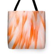 Flamingo Closeup Tote Bag