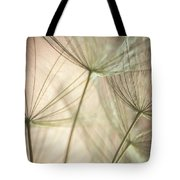 Flamingo Dandelions Tote Bag