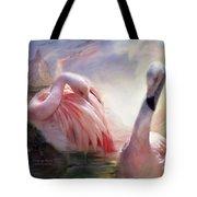 Flamingo Dawn Tote Bag