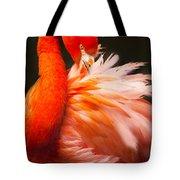 Flamingo Fluff Tote Bag