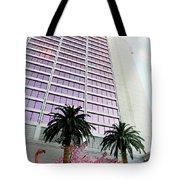 Flamingo Hotel Neon Sign Las Vegas Tote Bag