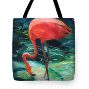 Flamingo Of Homasassa Tote Bag