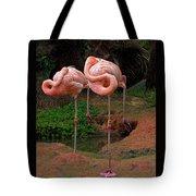 Flamingo See Flamingo Do Tote Bag