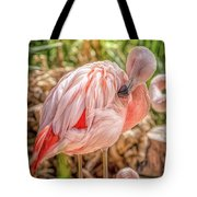 Flamingo2 Tote Bag