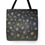 Flank Of A Brook Trout Salvelinus Tote Bag