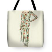Flapper In An Afternoon Dress Tote Bag