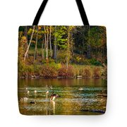 Flapping For Fall Tote Bag