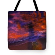 Flash Of Confusion Tote Bag