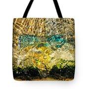Flash Of Emerald Tote Bag