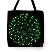 Flash Of Green Tote Bag