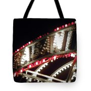 Flashing Lights Tote Bag