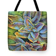 Flashy Succulent Tote Bag
